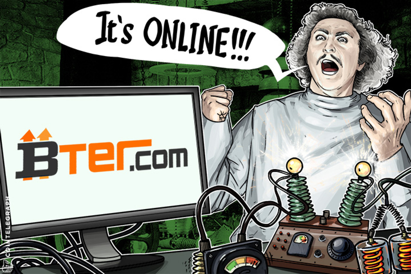Chinese Bter.com Back Online After Being Down For a Day