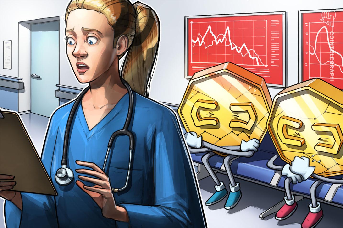 Continua la contrazione dei mercati, Bitcoin oscilla attorno ai 7.800$