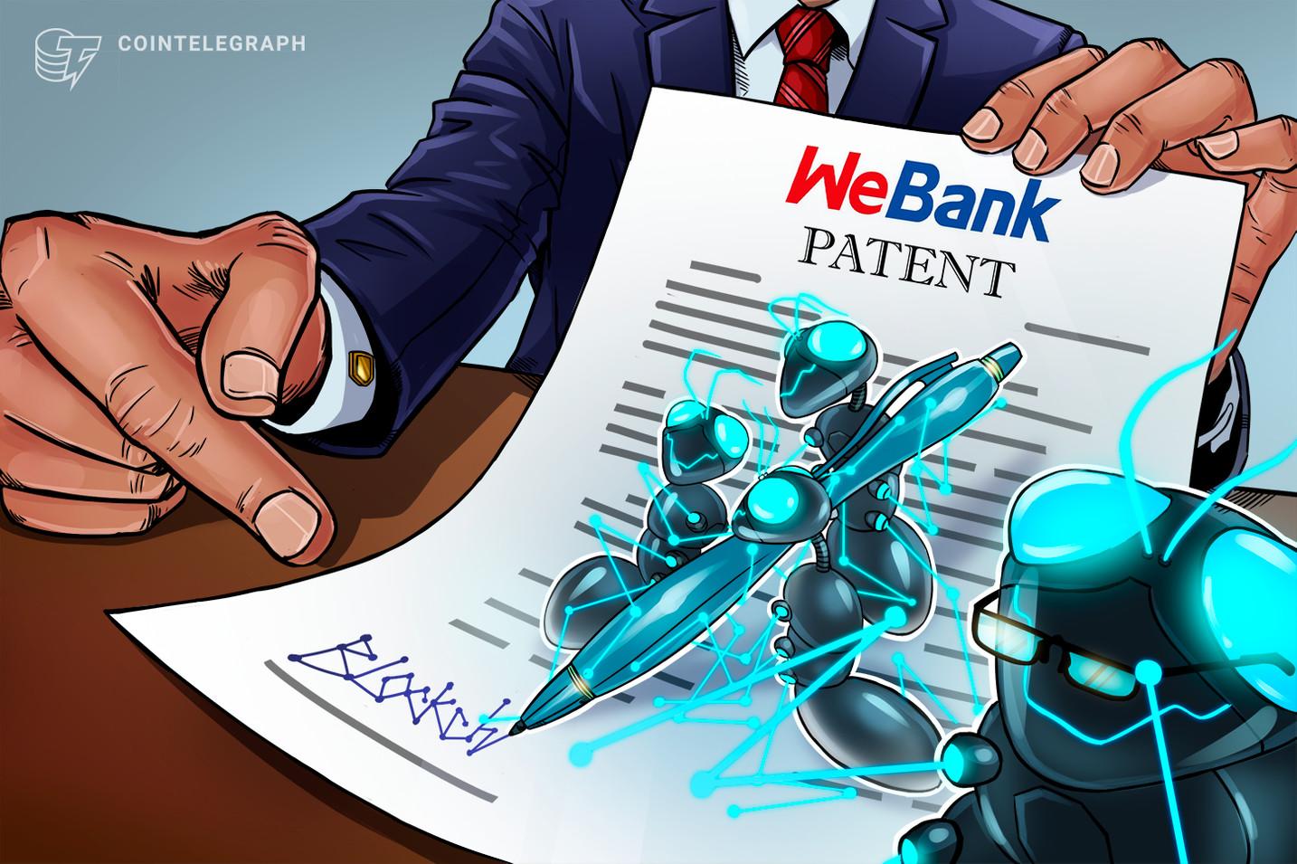 テンセントのデジタル銀行ウィーバンク、ブロックチェーン関連特許を2019年に282件公開