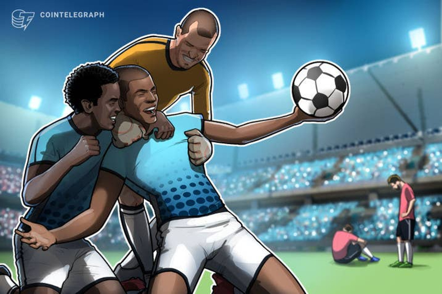 União com criptomoedas é a bola da vez no futebol do Brasil