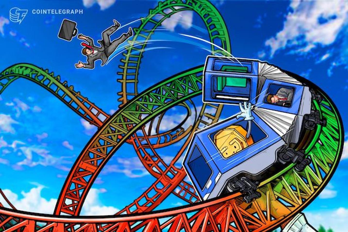 BTC相場は下落、ビットコインキャッシュ下落の影響か|仮想通貨相場市況(3月26日)