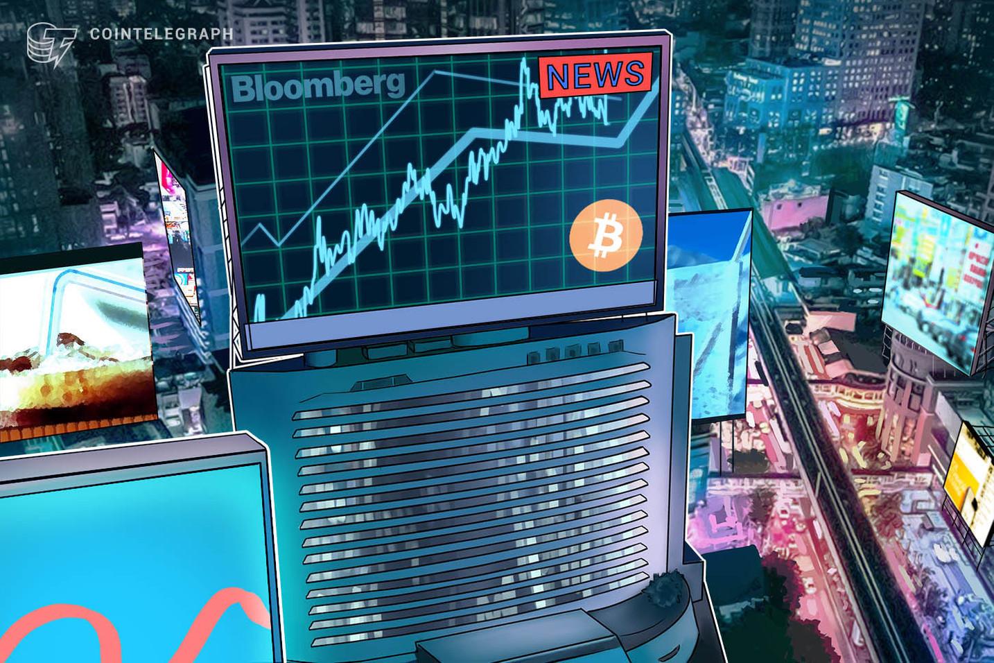 Bloomberg: recentes altas do Bitcoin podem estar ligadas ao algotrading