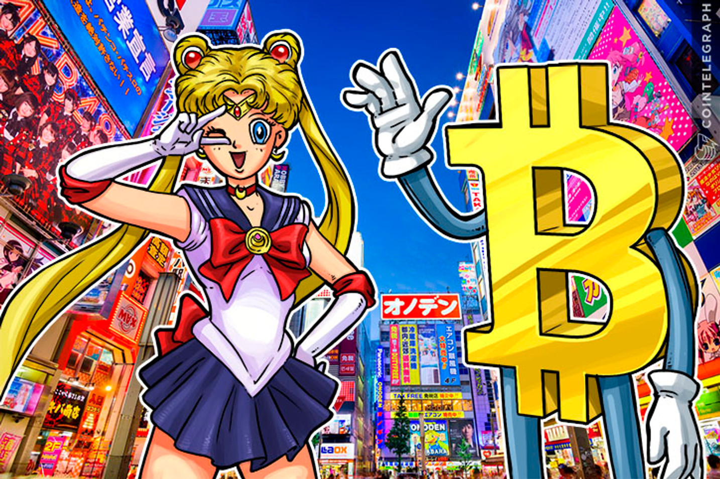 Japan's Electronics Marketplace Starts Adopting Bitcoin