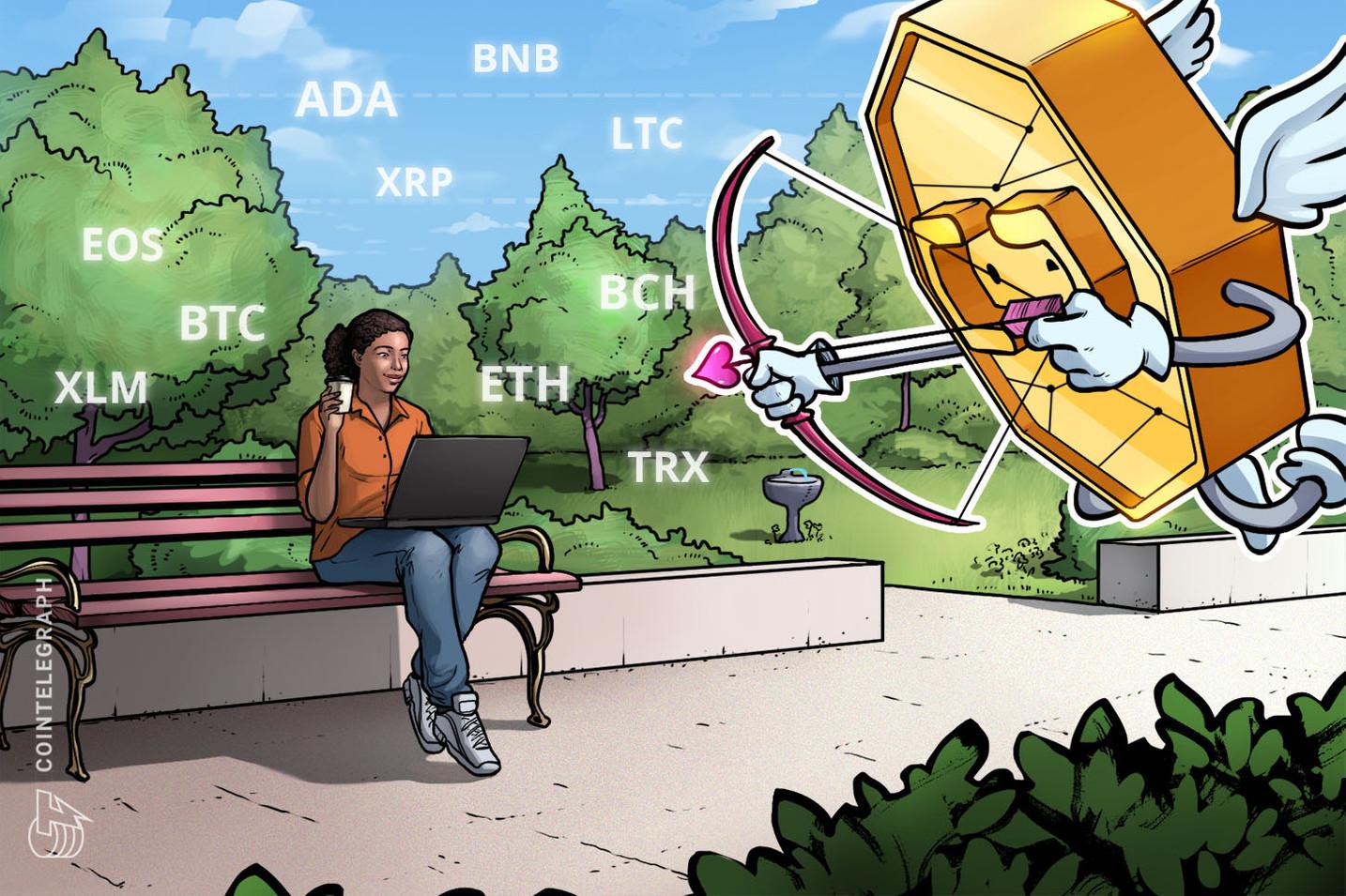 Kursanalyse, 13. Mai: Bitcoin, Ethereum, Ripple, Bitcoin Cash, Litecoin, EOS, Binance Coin, Stellar, Cardano, TRON