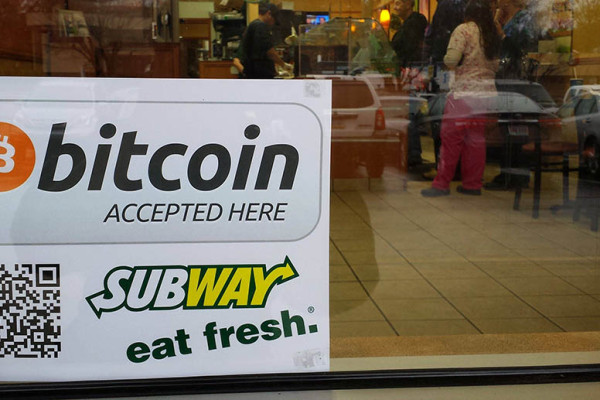 Buy a sandwich in Russia, pay with bitcoins and get your special discount