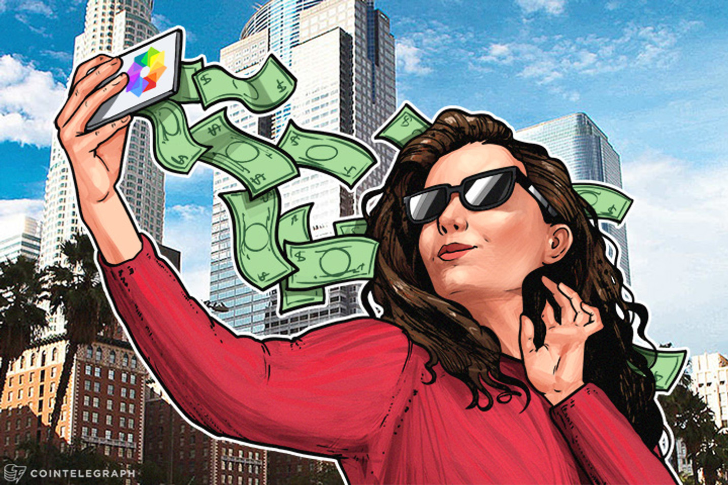 Sharing Selfies Could Now Help You Earn Money in Cryptoworld