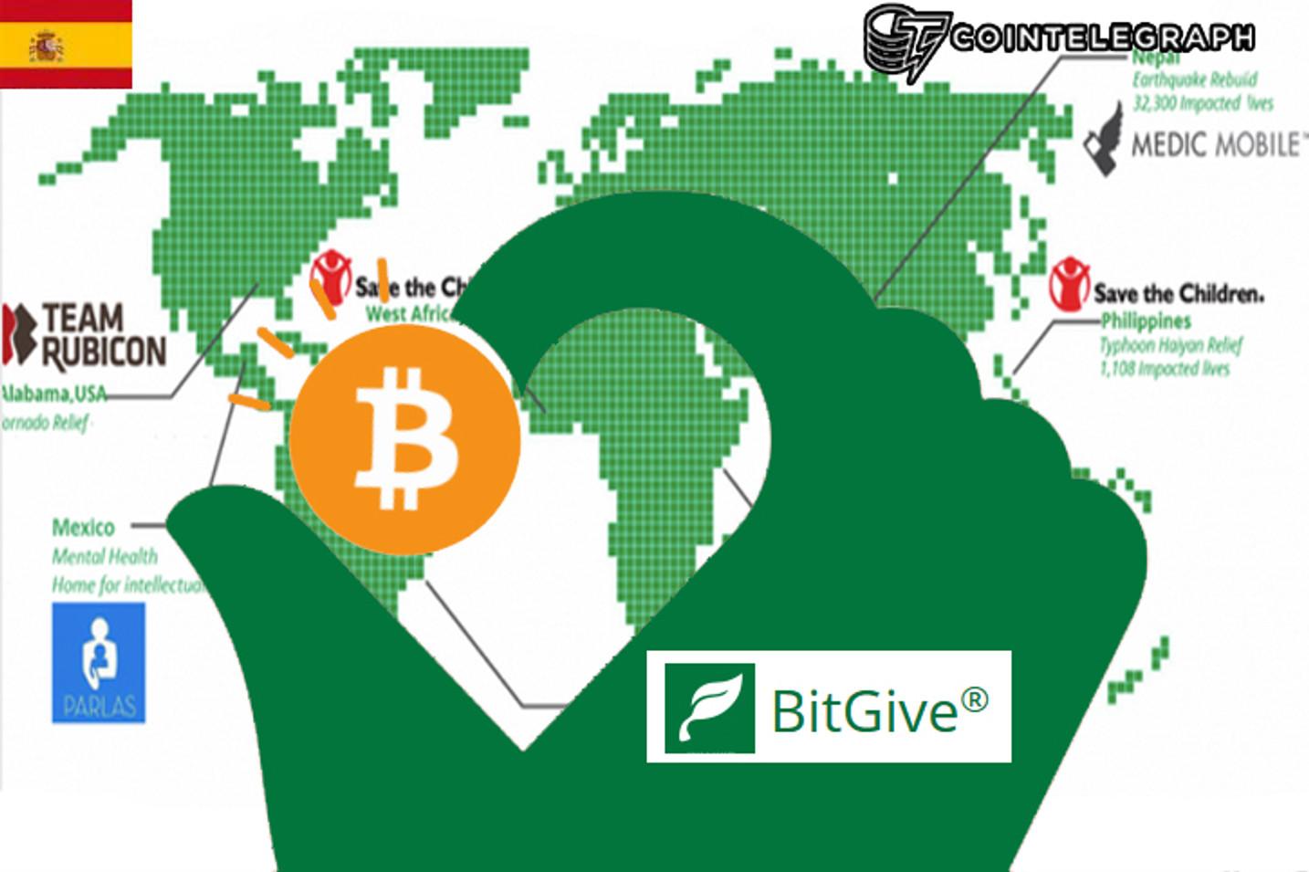 La filantropía y caridad son más efectivas gracias al Bitcoin y la tecnología Blockchain