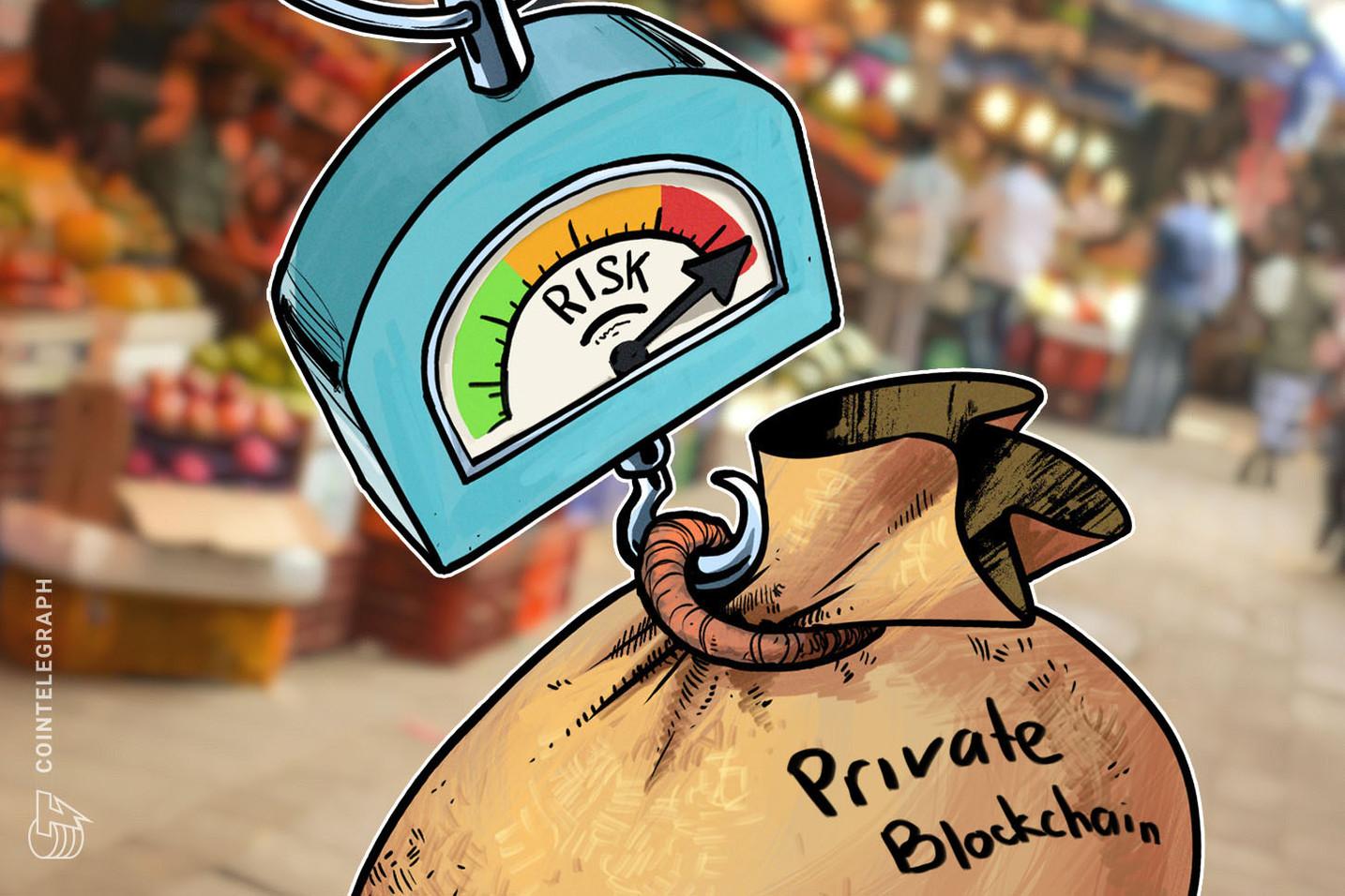 La investigación de Moody's advierte a las corporaciones que las blockchains privadas contienen nuevos riesgos