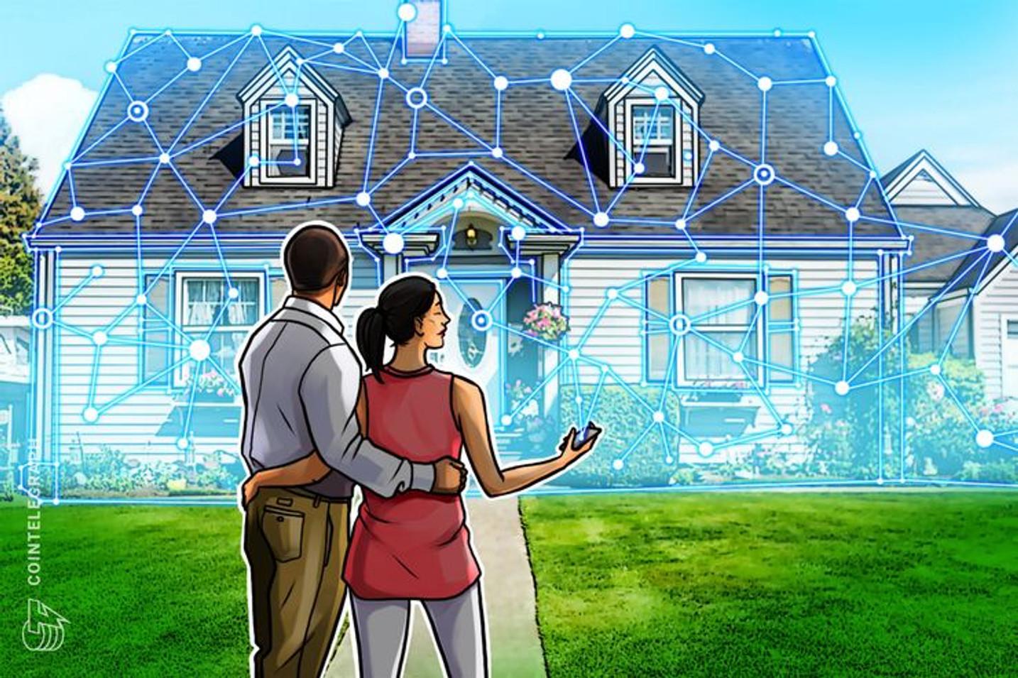 Erste deutsche Immobilie landet auf der Blockchain