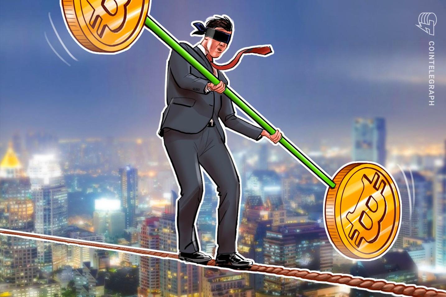 仮想通貨ビットコインに反発の兆し?BTC先物で資金調達率が低下