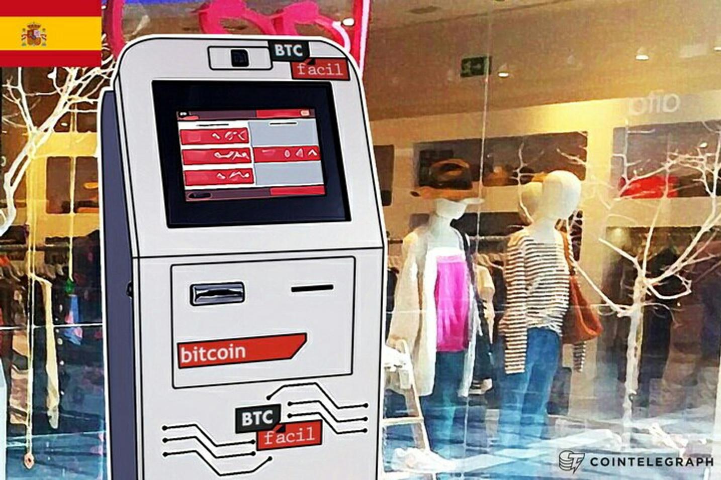 El único centro comercial de Madrid que contará con un cajero automático de bitcoins, estará en Castellana 200