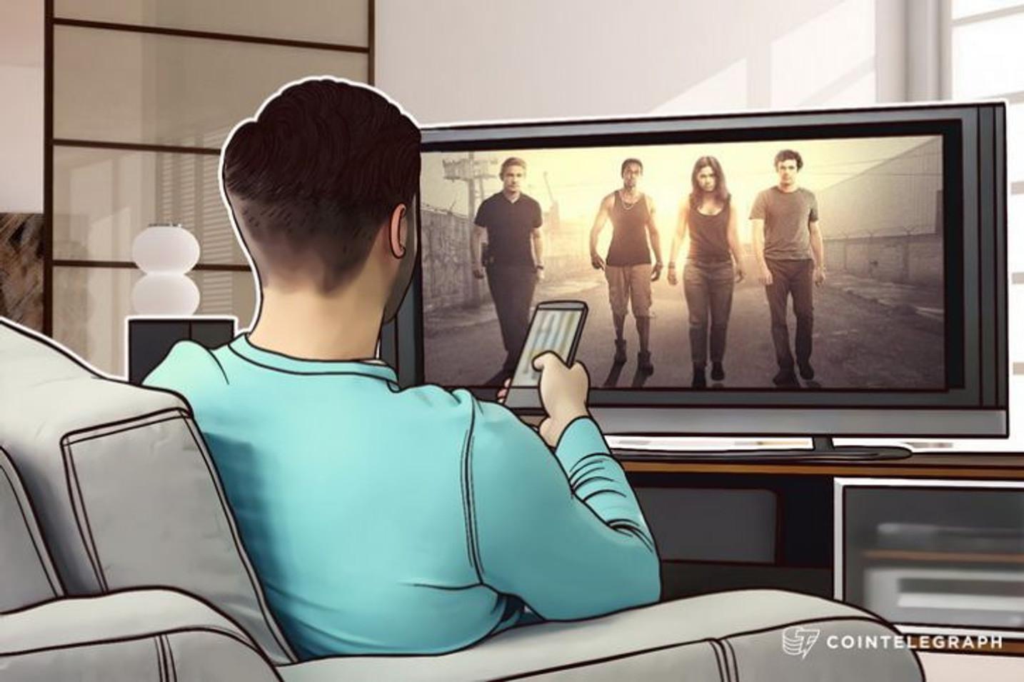 ビットコインのような仮想通貨を題材にした新しいテレビ番組のシリーズ放送がスタート
