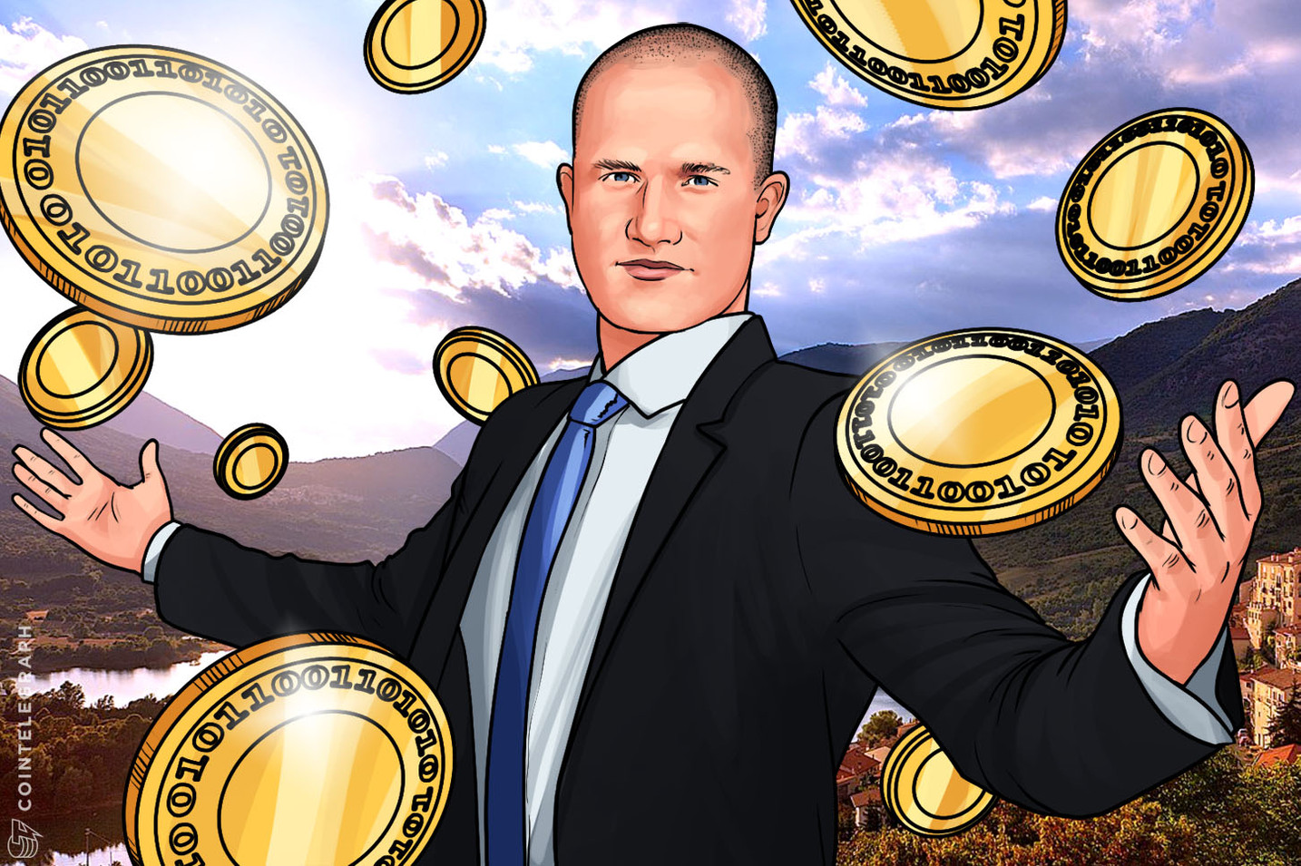 Coinbase CEO Launches Charitable Initiative to Help People in Emerging Markets