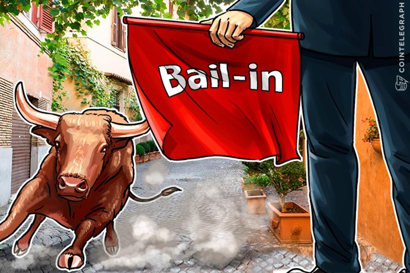 Bitcoin Bull Run Alert: Italy to Begin Banking Bail-In
