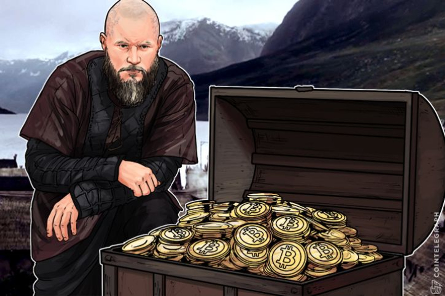 "Norwegian Investor's ""All-In"" Bitcoin Buy Hits National Headlines"
