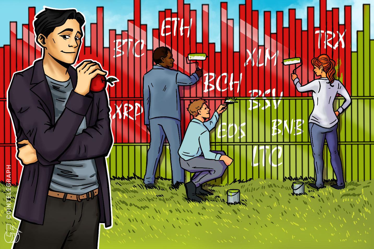 Price Analysis 02/12: BTC, ETH, XRP, BCH, LTC, EOS, BNB, BSV, XLM, TRX