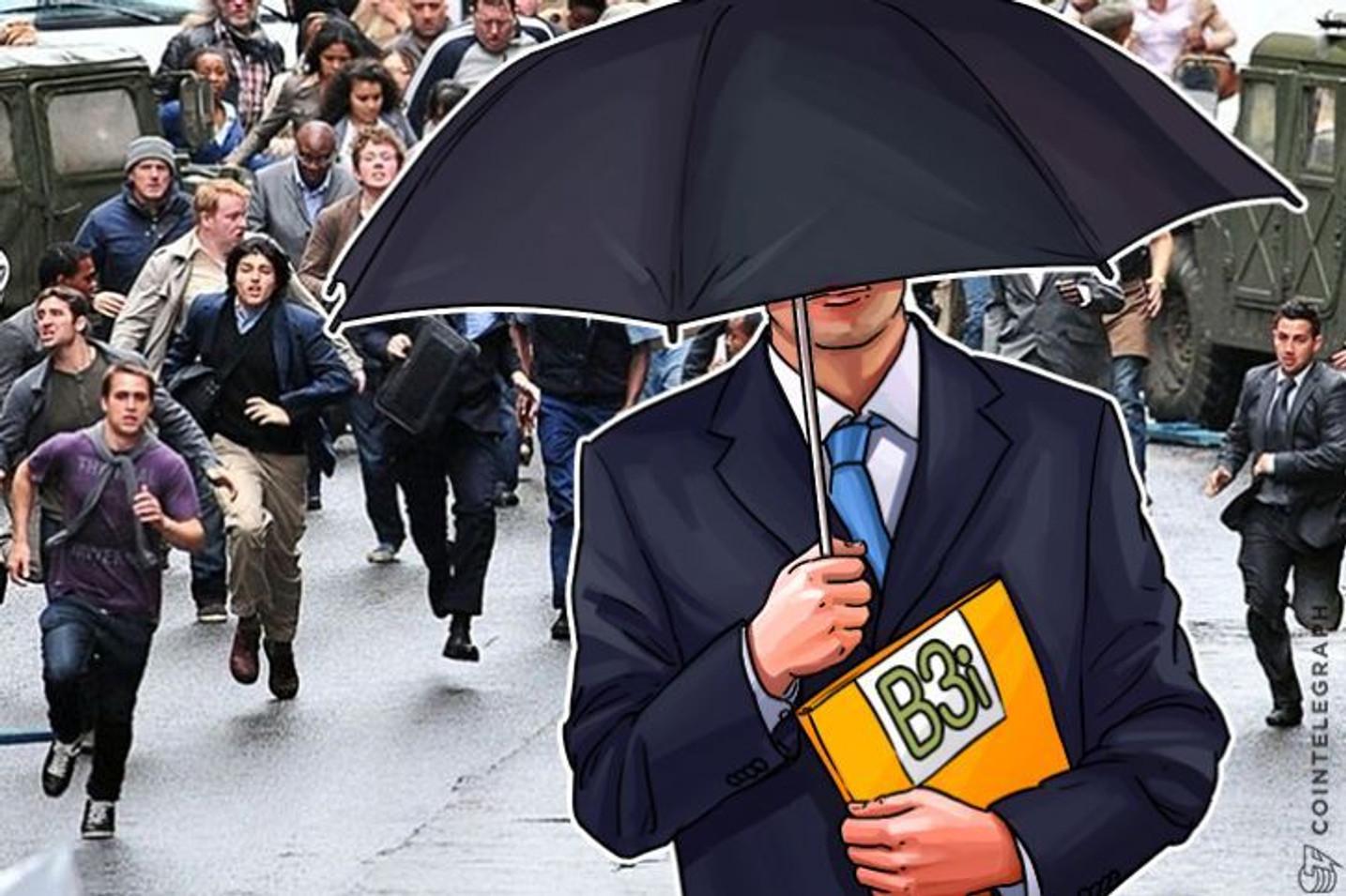 「大企業」B3iがブロックチェーンを利用した災害保険契約のテスト運用を開始