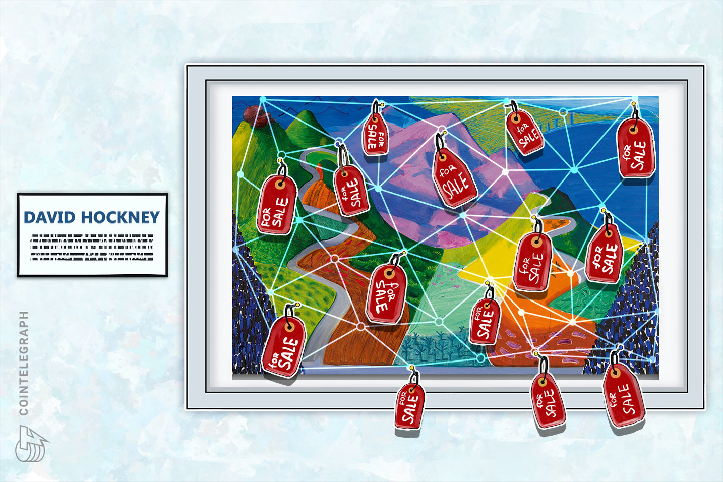 South Korean ArtBloc to Sell David Hockney Paintings via Blockchain