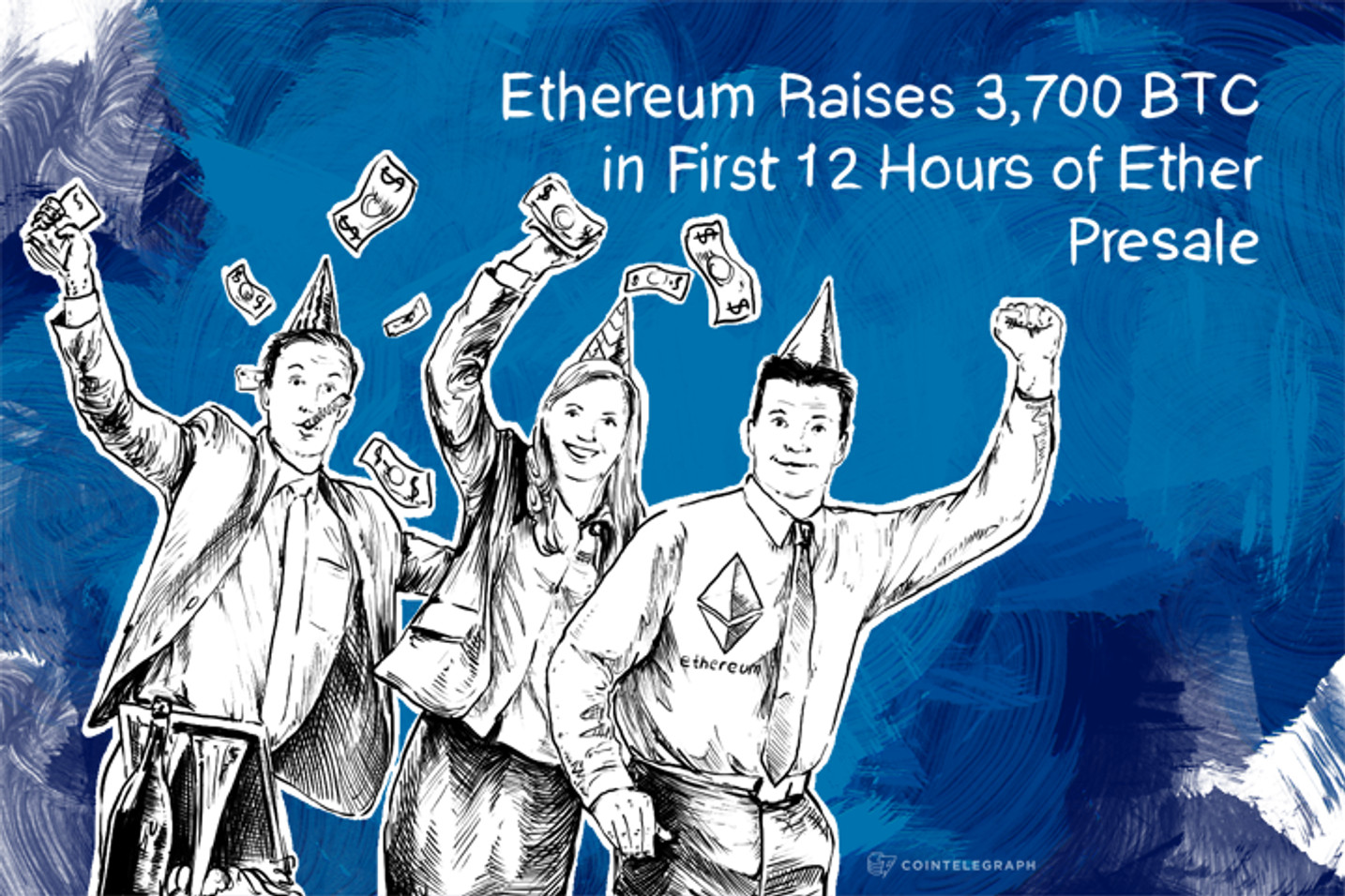 Ethereum Raises 3,700 BTC in First 12 Hours of Ether Presale