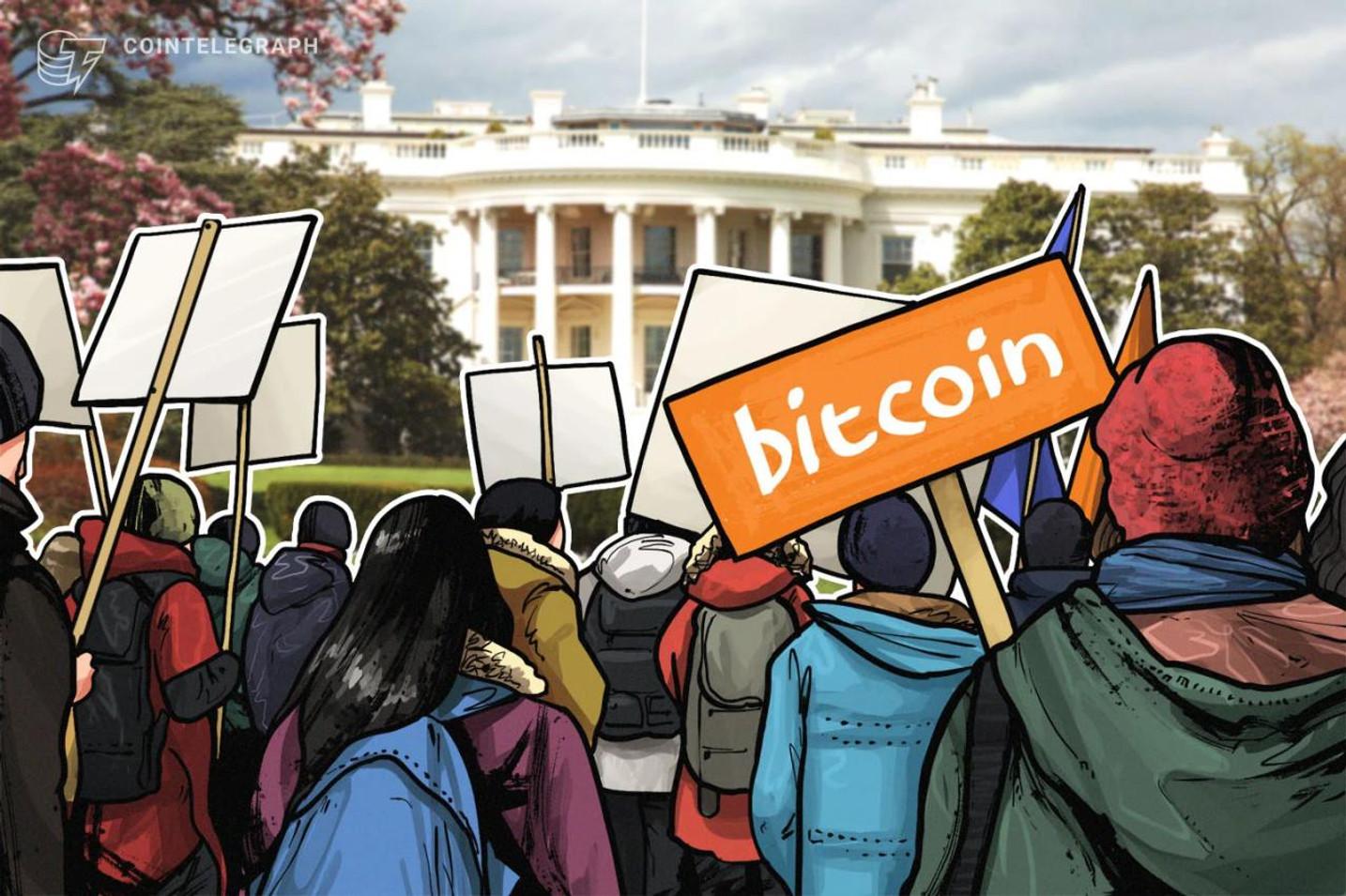 Disturbios en EEUU y Bitcoin con ganas de ir a la luna ¿Las llamas provocarán un alza?