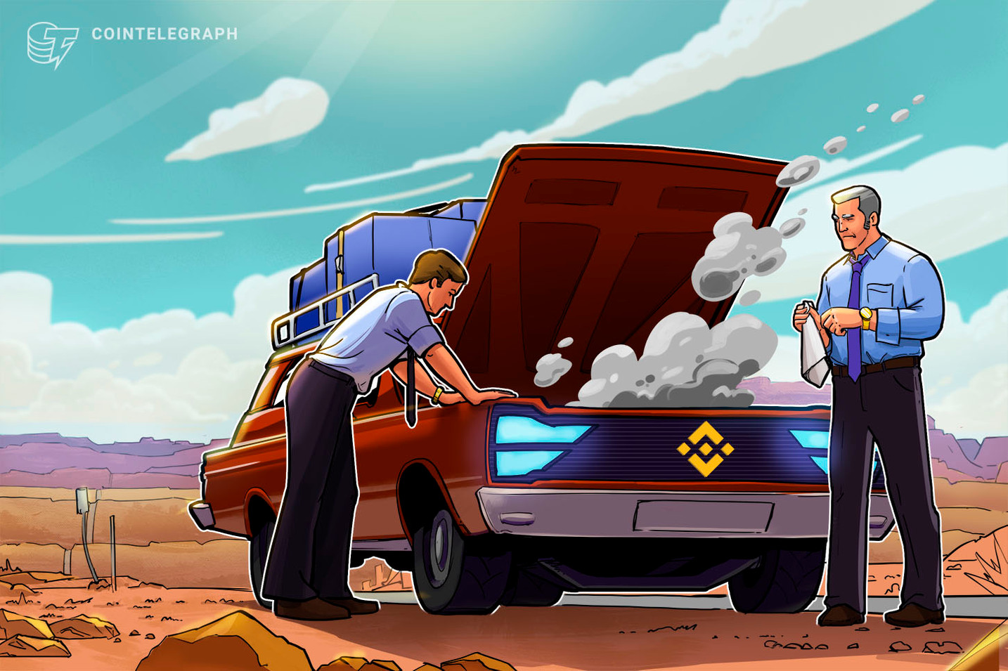 Binance Halts Trading to Resolve Technical Problem