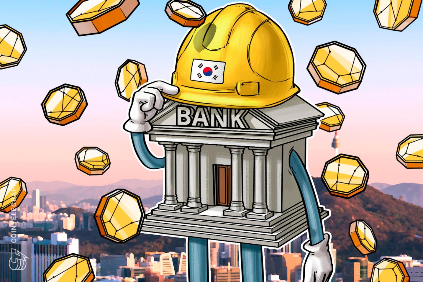 Maior banco coreano aumenta a pressão sobre contas vinculadas à exchanges cripto