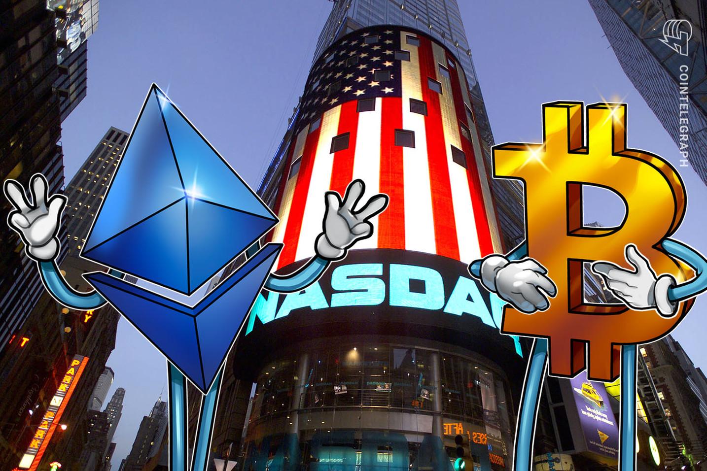 Nasdaq comienza a enlistar los índices de precios Bitcoin y Ethereum de Brave New Coin