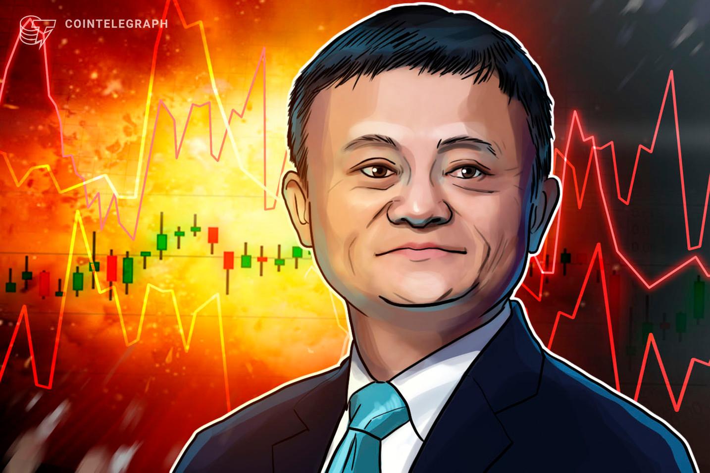 Com maiores perdas de sua história, SoftBank vê Jack Ma, do Alibaba, renunciar ao conselho diretivo