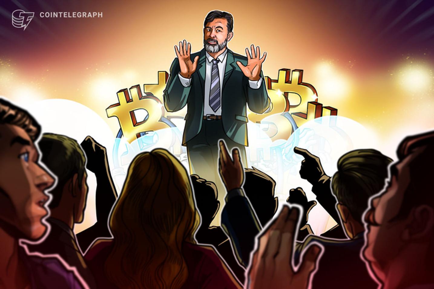 Com prejuízo de R$ 170 mil e ativos 'sequestrados', empresário protesta na sede do Bitcoin Banco