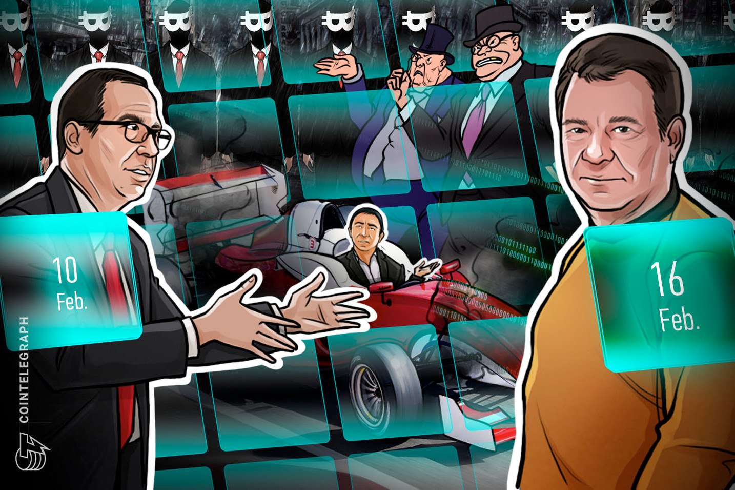 BTC Correction, Andrew Yang Out, William Shatner Attacks: Hodler's Digest, Feb. 10–16