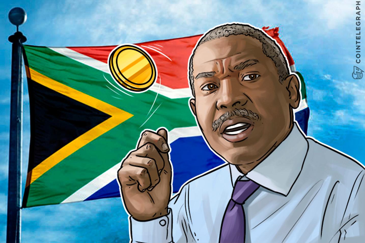 Se le pone arriesgado al banco central sudafricano repartir el Bitcoin