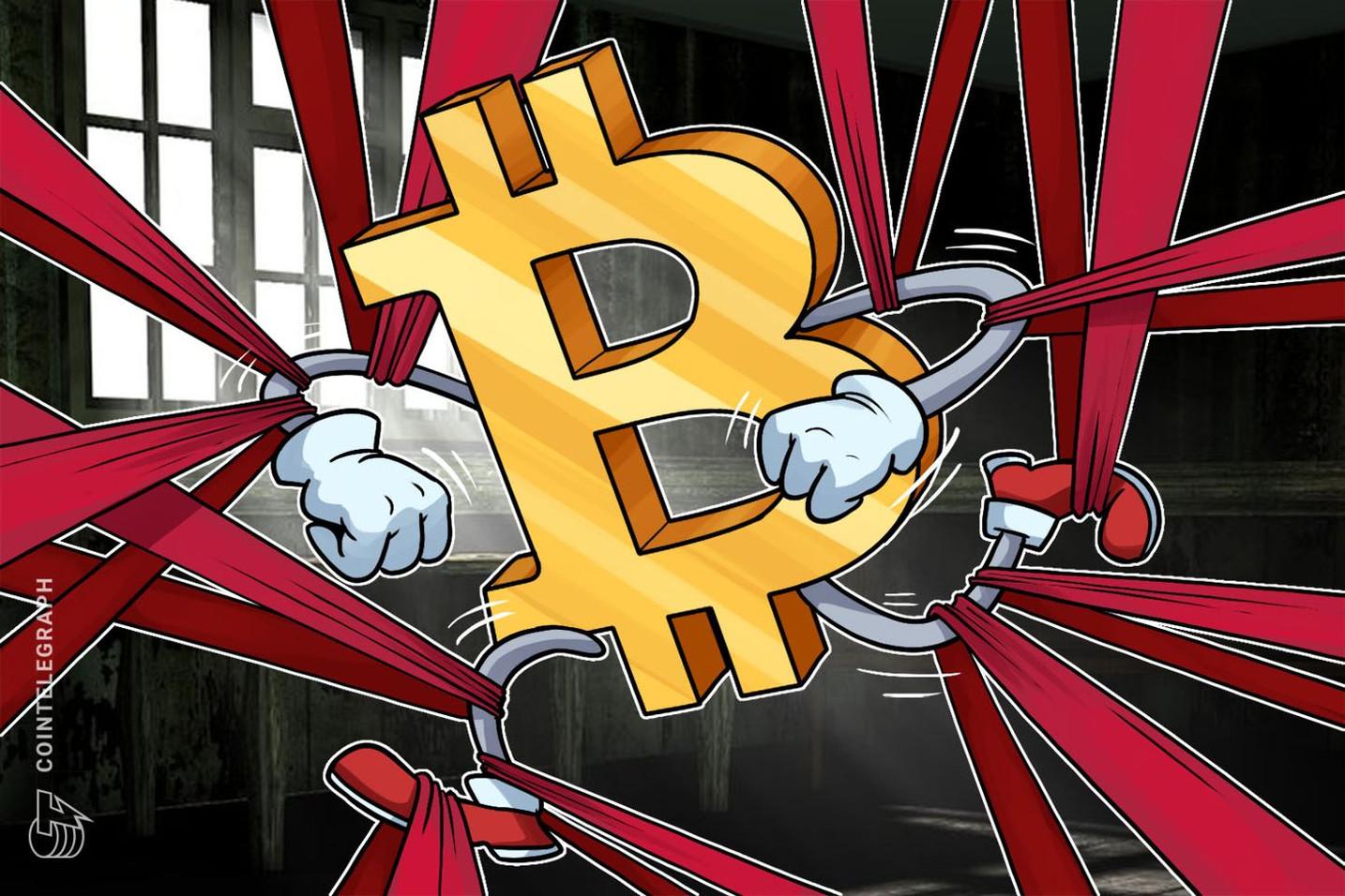 La cinta de dificultad Bitcoin: la presión de venta en un gráfico