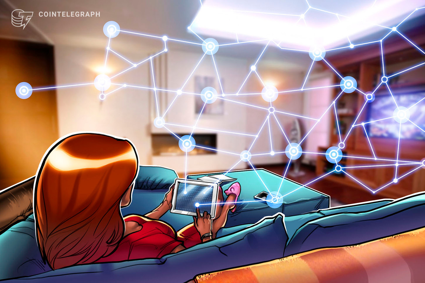 Blockchain Startup Launches App to Encourage People Stay at Home Amid COVID-19