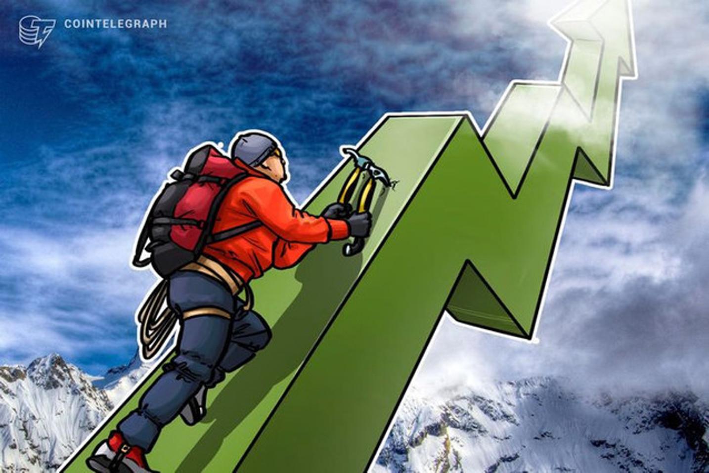 Los gráficos de CoinDance dan muestra del interés creciente de los chilenos por cambiar su moneda local por Bitcoin