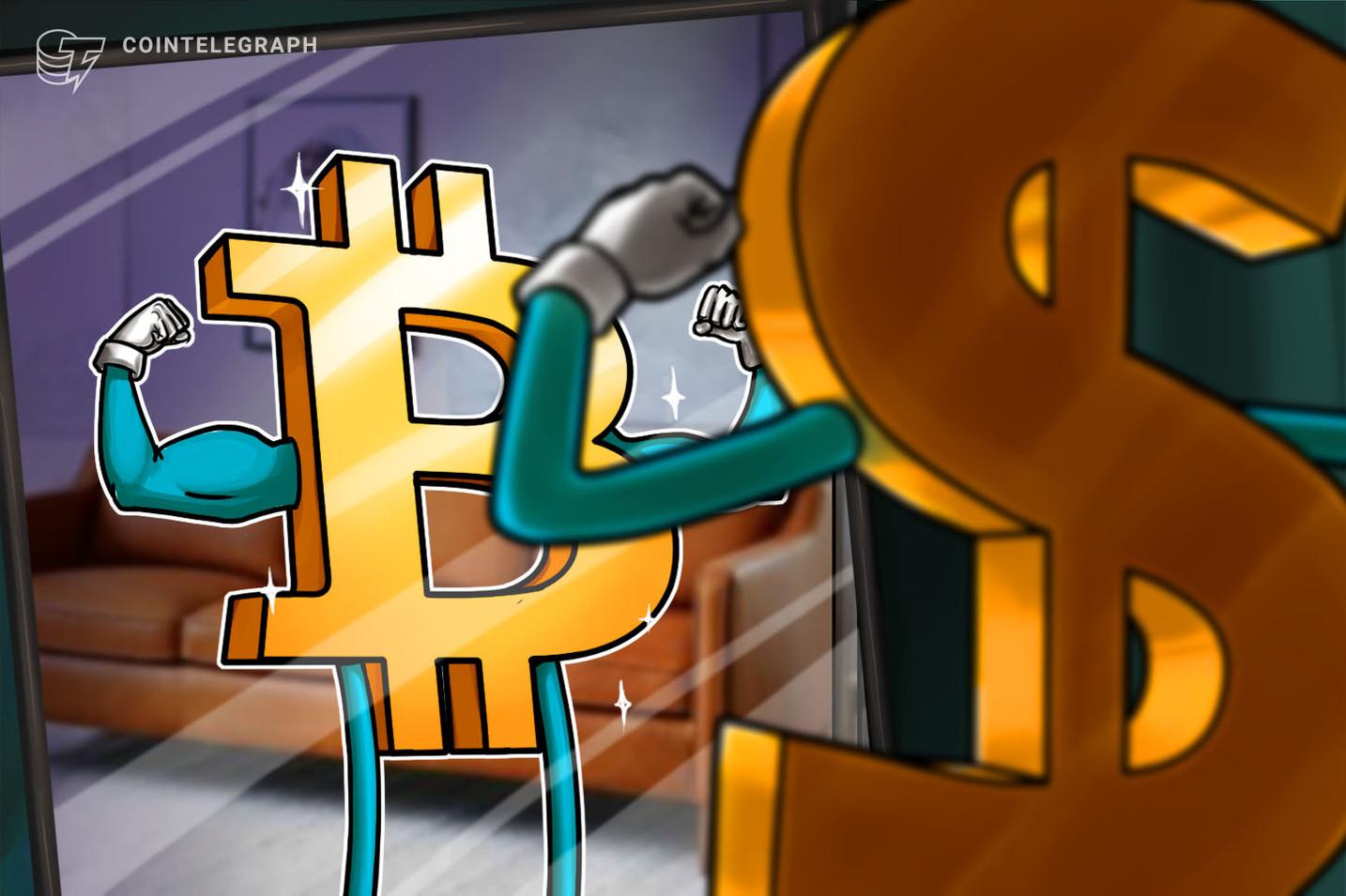 """Hay una """"alta probabilidad"""" de que Bitcoin suba mientras el USD se hunde a niveles de 2008"""