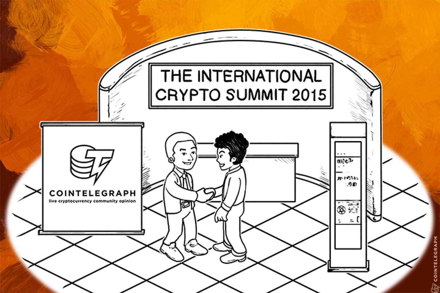 2015 International Virtual Crypto Summit announced