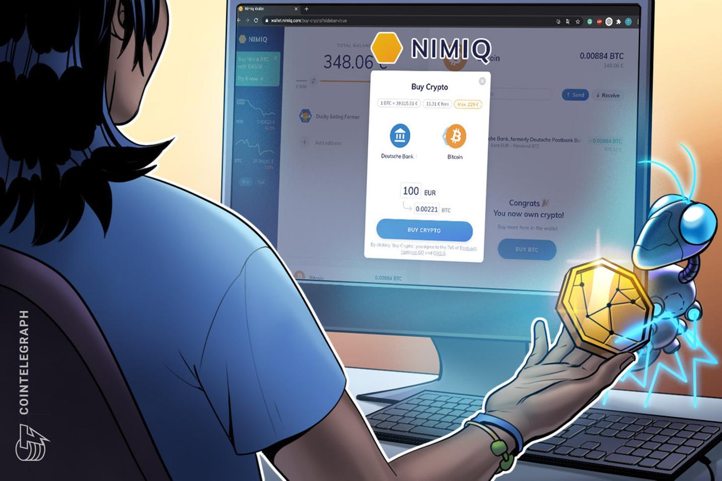 Deutsches Blockchain-Projekt ermöglicht den Krypto-Kauf direkt vom Bankkonto