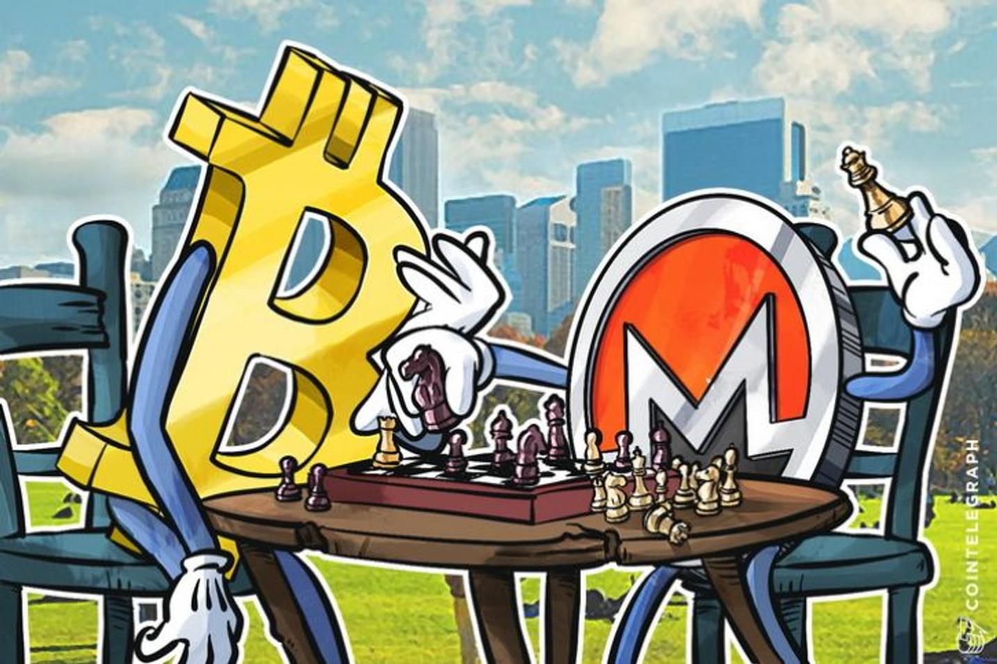 Kako je Monero preuzeo Bitkoinovu jedinstvenu bazu korisnika