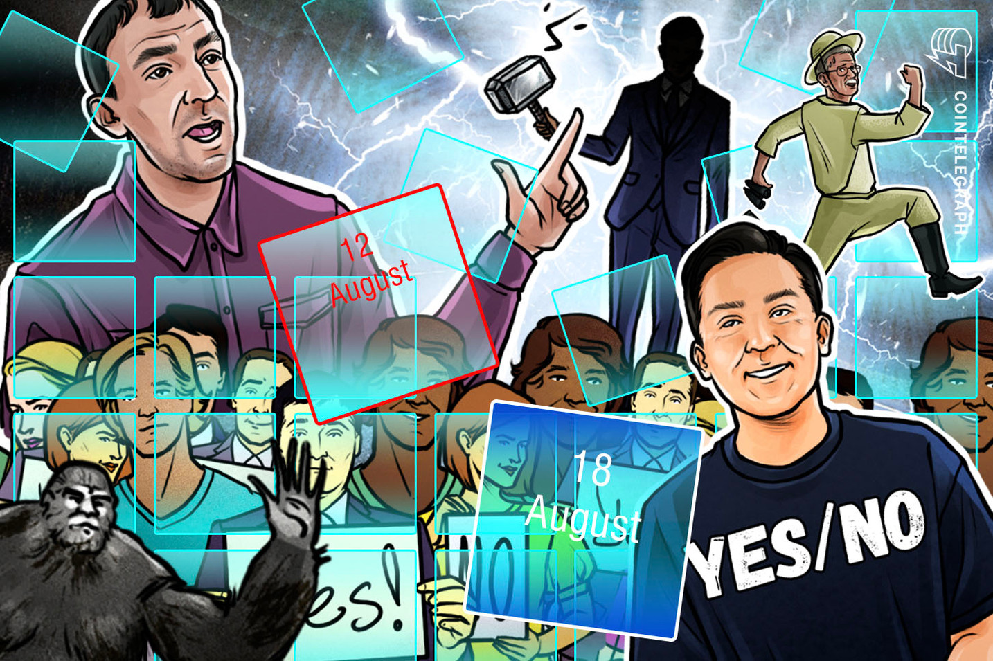 Hodler's Digest, Aug. 12–18: BTC Premiums, Coinbase Blow, Binance Revival