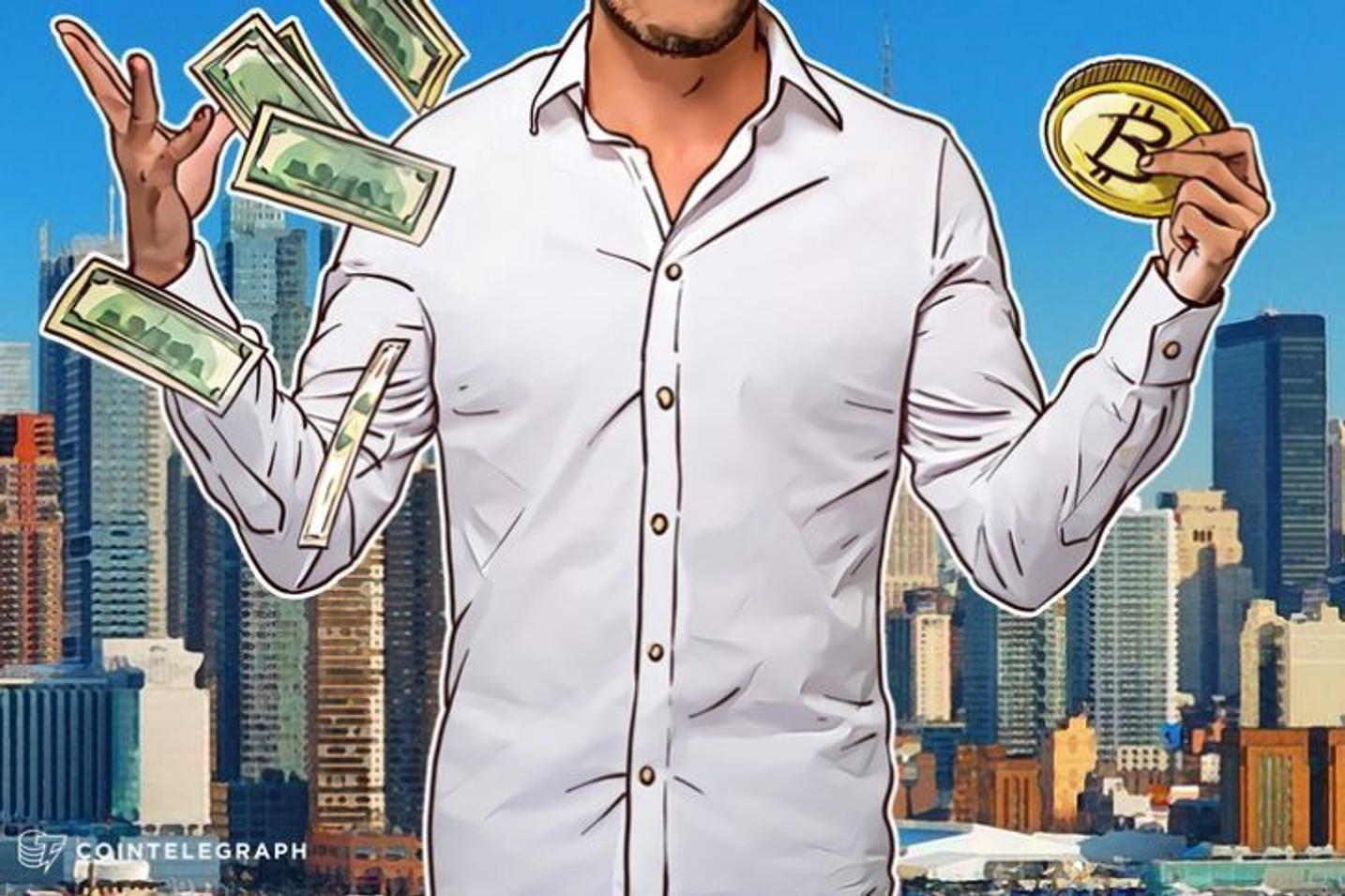 """Adoção do """"Círculo Virtuoso"""" do Bitcoin pode começar Graças ao LedgerX: Bloomberg"""