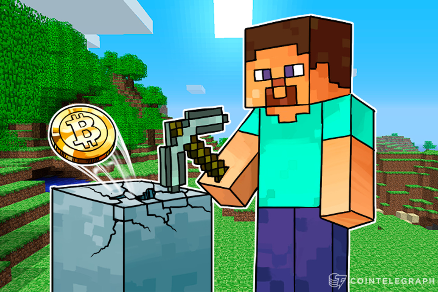 """Kill Monsters, Get Bitcoin: Minecraft Server Releases Version 2.0, Opens Up """"Satoshi Town"""""""