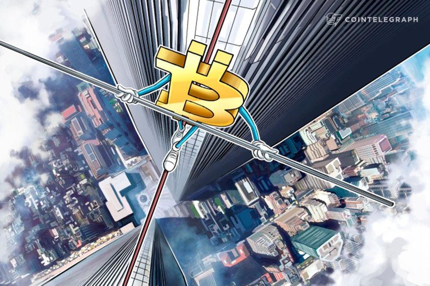 Abaixo dos US$ 50 mil: Volatilidade do Bitcoin acelera liquidação de posições longas no final de semana