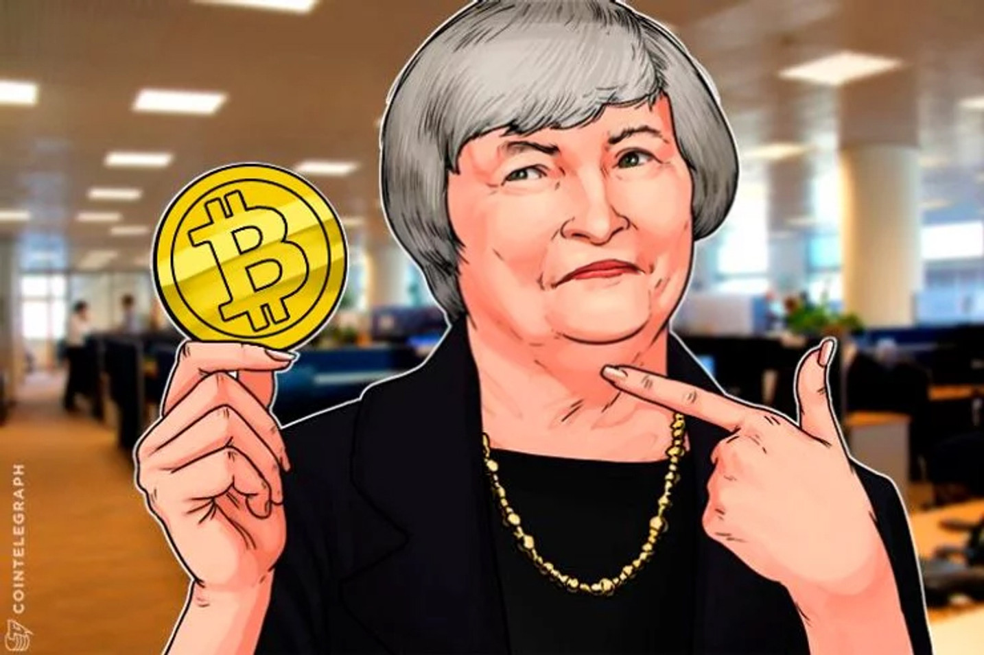 イエレン前FRB議長 ビットコインを全否定 競争相手として意識?
