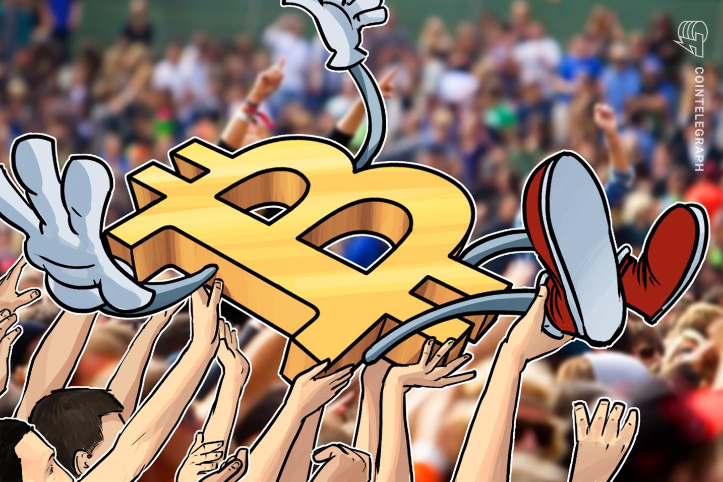 La cifra del sentimiento de Bitcoin después del halving se eleva a la más alta desde 2017
