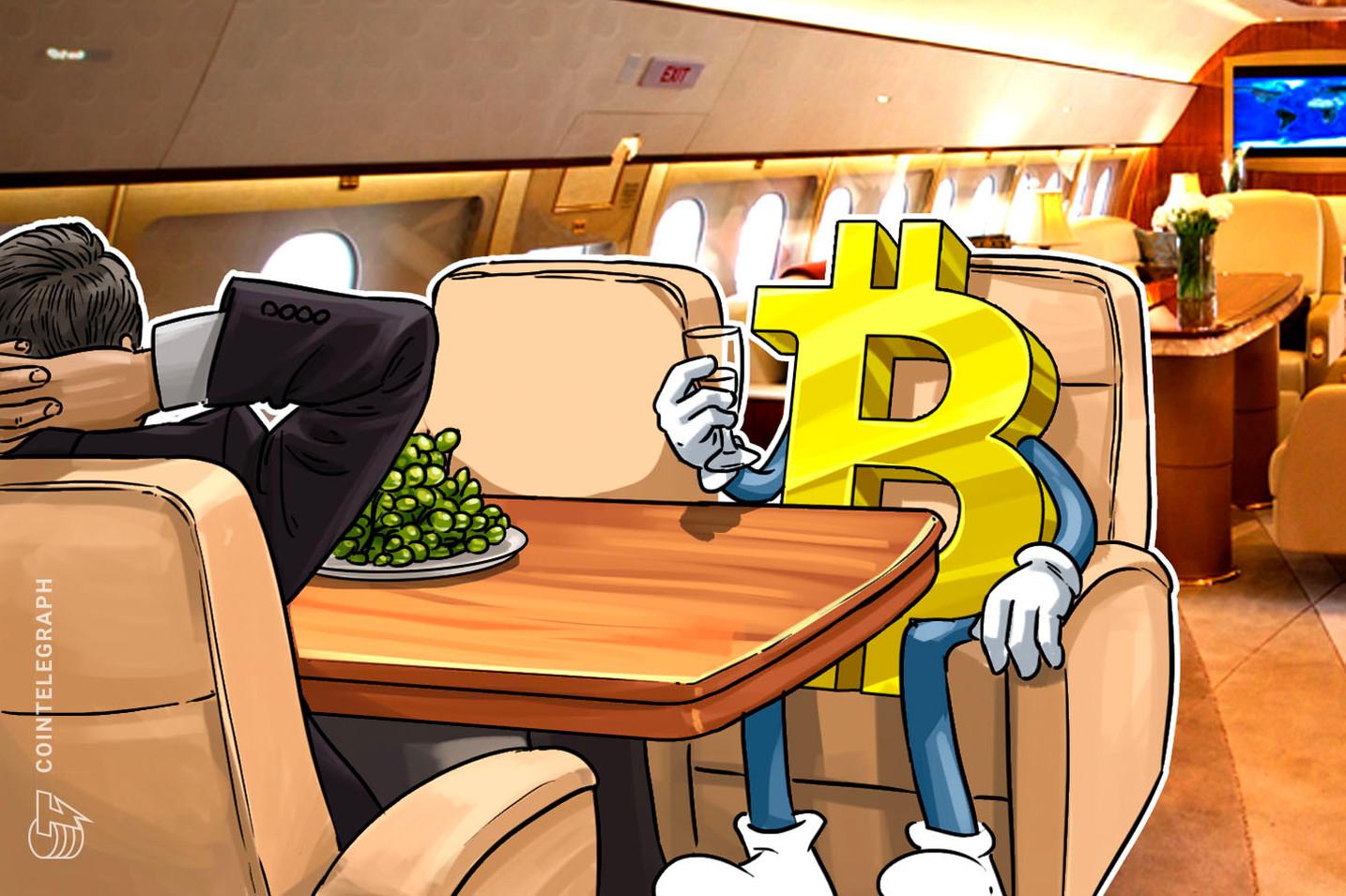 Turistička kompanija omogućava kupcima da rezervišu letove pomoću bitkoina