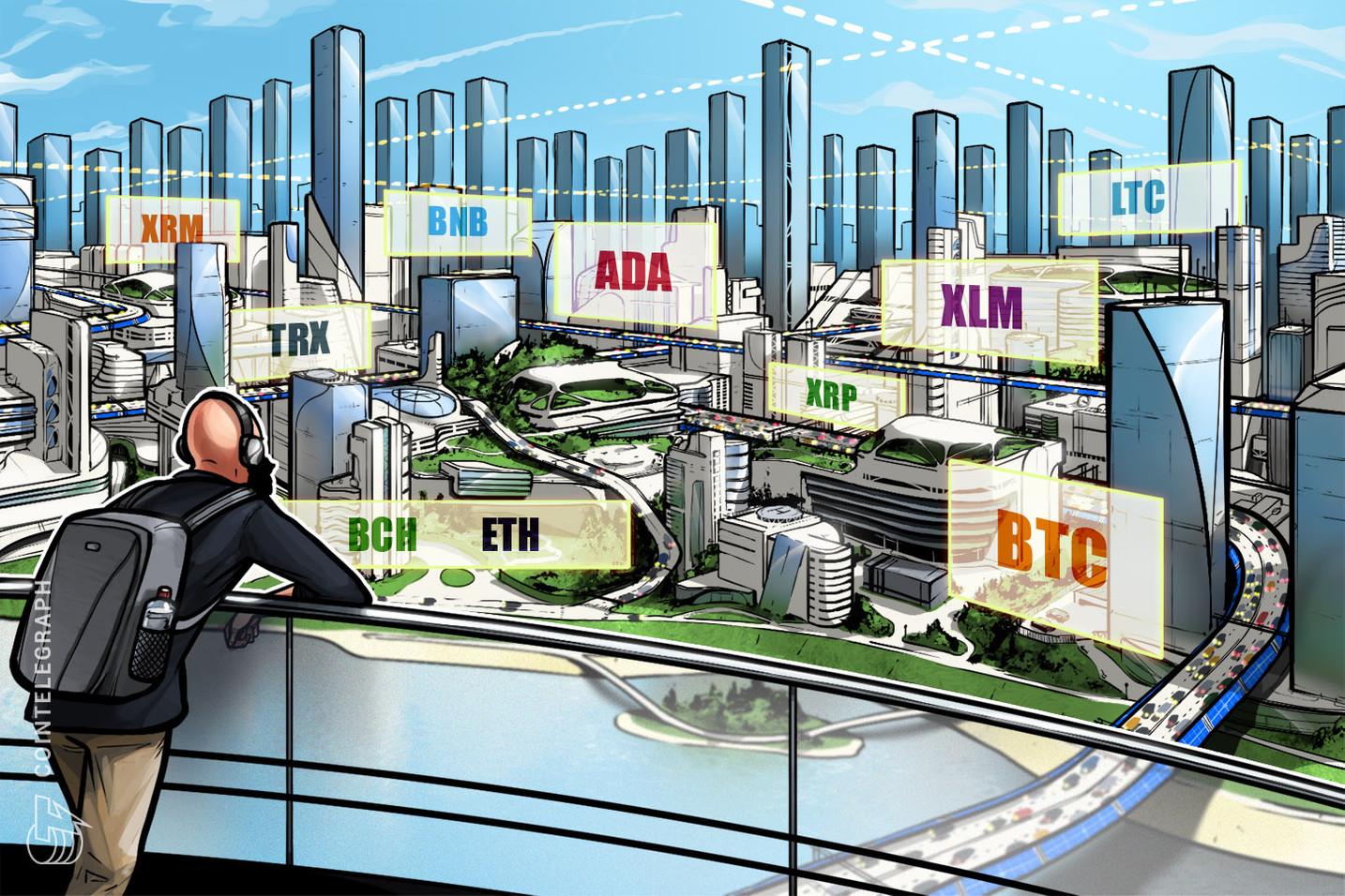 Kursanalyse, 29. März: Bitcoin, Ethereum, Ripple, EOS, Litecoin, Bitcoin Cash, Binance Coin, Stellar, Cardano, Tron