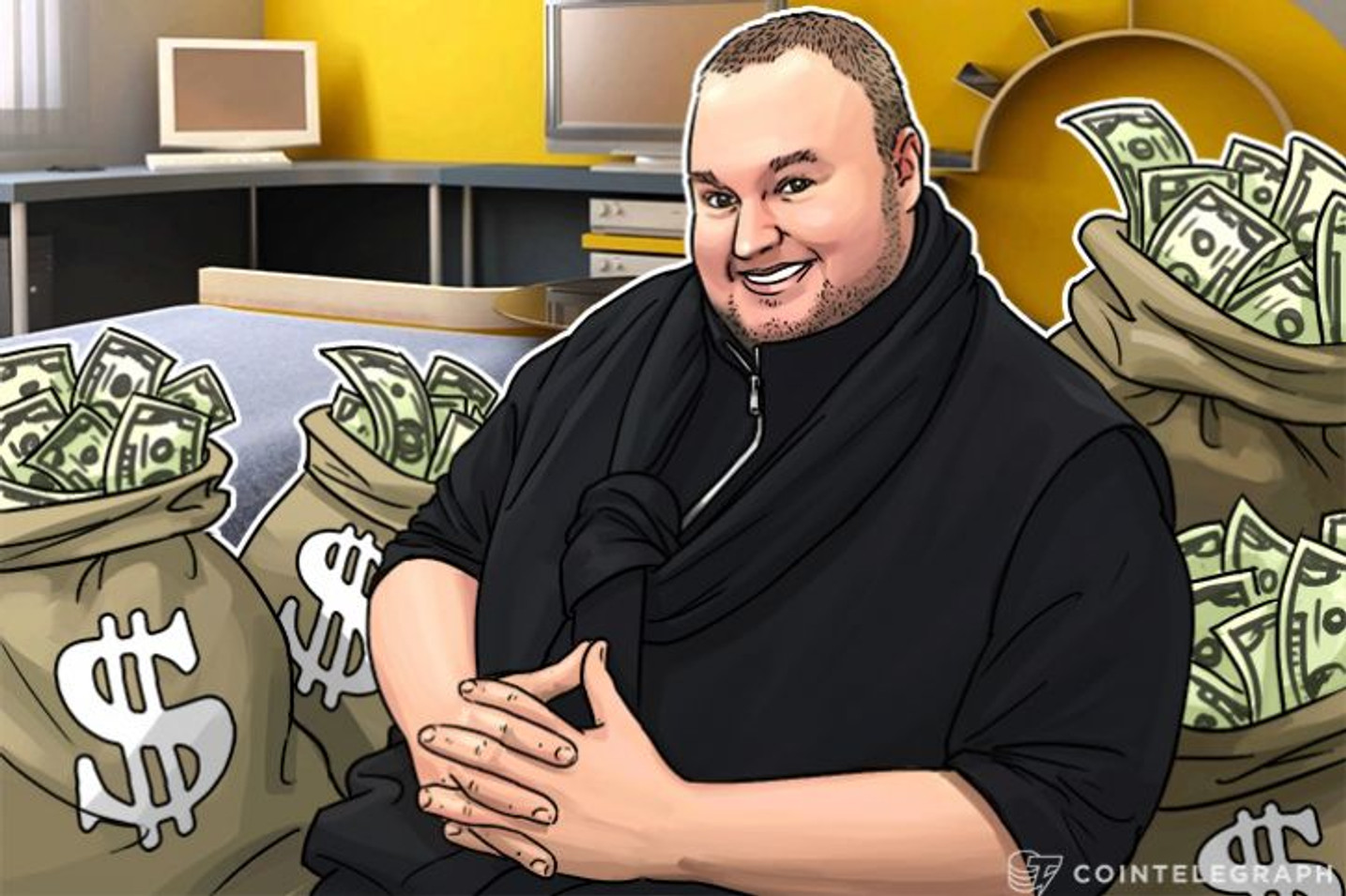 Bitcoin 'Celebrity ICO' Sees Kim Dotcom Fund Bitcache With Crypto