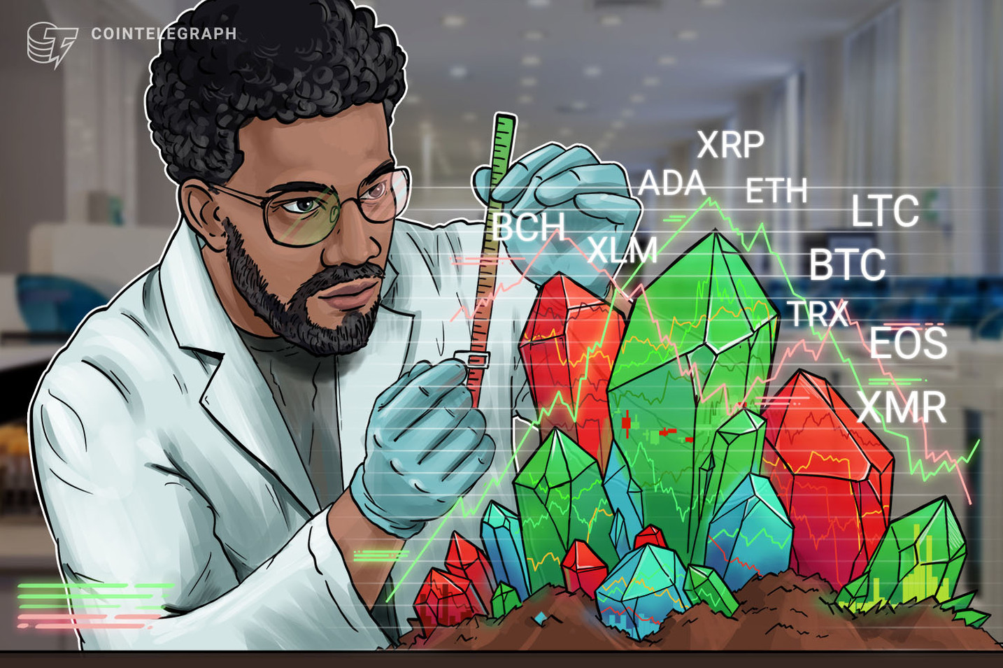 Bitcoin, Ethereum, Ripple, Bitcoin Cash, EOS, Stellar, Litecoin, Cardano, Monero, TRON: Price Analysis, October 8