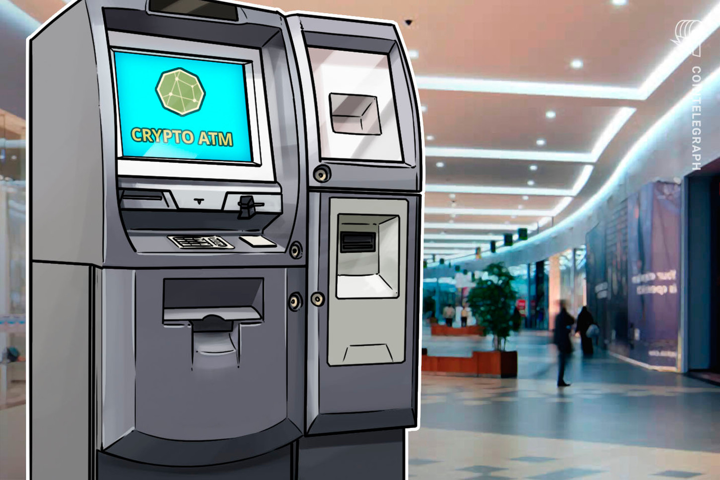 Cartões já permitem sacar stablecoin lastreada em reais em qualquer caixa eletrônico do país; vídeo