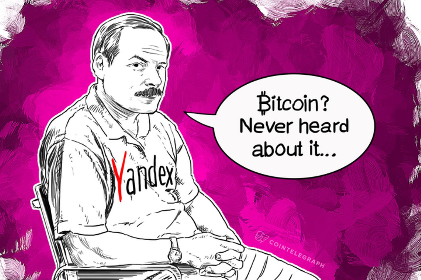 Russian Yandex Forgot Bitcoin Exchange Rate
